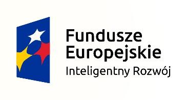Fundusze Europejskie - Inteligentny Rozwój logo